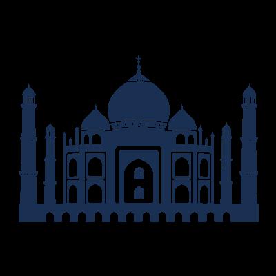 A4 Taj Mahal